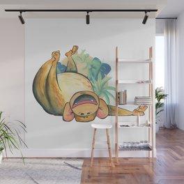 Cute Chimp Wall Mural