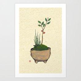 Bonsai  #004 Art Print