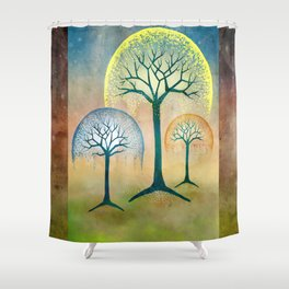 Waterfall Willows Shower Curtain