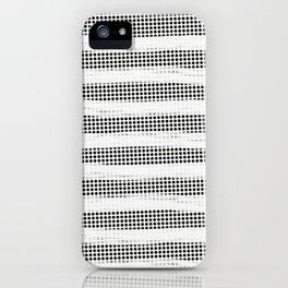 Black Diamonds Gross Stripes /Strokes/Lines iPhone Case