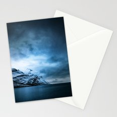 The Arctic - Storm Over Still Water Stationery Cards