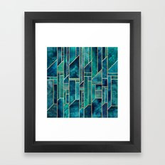Blue Skies Framed Art Print