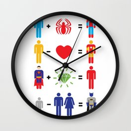 Super Math Wall Clock