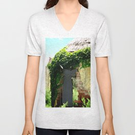 Mind Bottling Ruins Unisex V-Neck