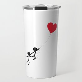 Love is in the air by Oliver Henggeler Travel Mug