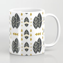 SCANDINAVIAN LEAVES PATTERN 2 Coffee Mug