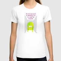 introvert T-shirts featuring Introvert by Chika Ando