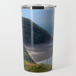 Lynton and Lynmouth, Devon, England Travel Mug