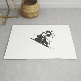 Butterfly Minimal Abstract Rug