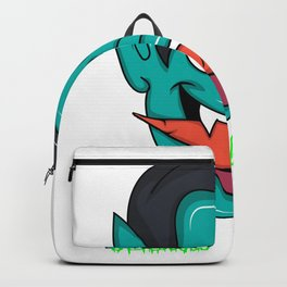 Halloween Vegan Vampire Backpack