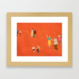 Sing, sing, sing! Framed Art Print