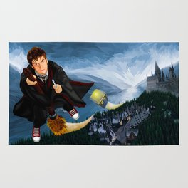 10th Doctor who lost in the wizard World iPhone 4 4s 5 5s 5c, ipod, ipad, pillow case and tshirt Rug