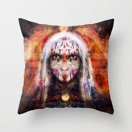 Völva - Seeress Throw Pillow