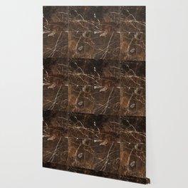 Brown Granite Squares Wallpaper