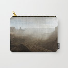 Storm in Canyonlands National Park Carry-All Pouch