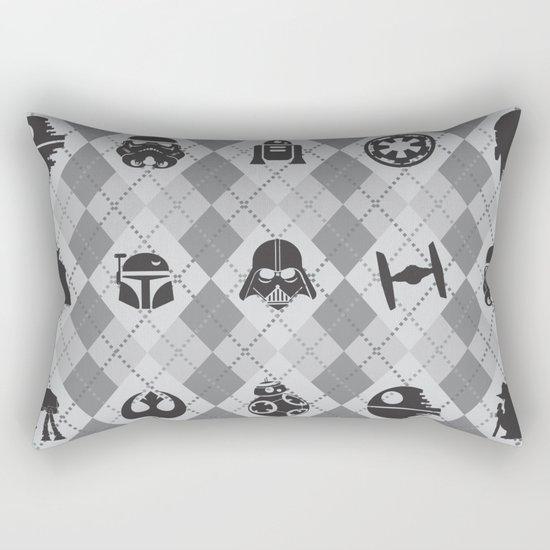 Galactic Pattern Rectangular Pillow