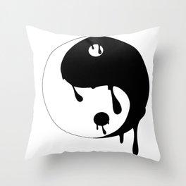 Yin's-Yang Throw Pillow