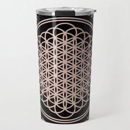 This Is Sempi-floral Travel Mug