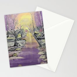 Warm winter beauty Stationery Cards