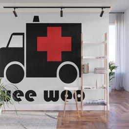 Wee Woo Ambulance Wall Mural