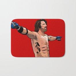 AJ Styles Portrait Bath Mat