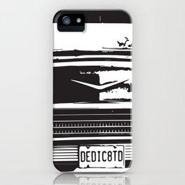 Vintage Dedication iPhone Case