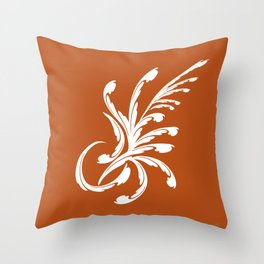 Rustic Elegance Throw Pillow