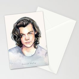 Harry Watercolors II Stationery Cards