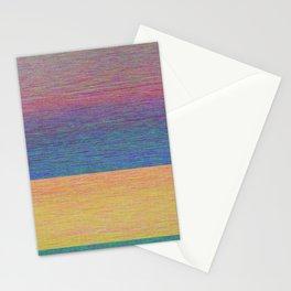 Digital Sunrise Stationery Cards