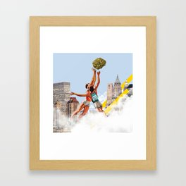 Basket Nugs Framed Art Print