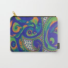 PAISLEY SWIRLS Carry-All Pouch