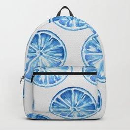 Blue Citrus Backpack