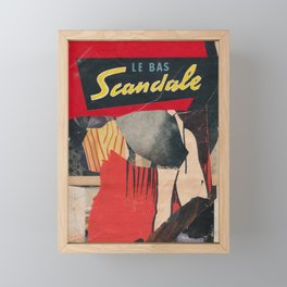 Scandale Framed Mini Art Print