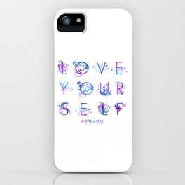 Kpop BTS: LOVE YOURSELF! iPhone Case