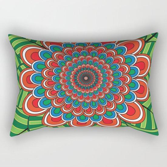 Pattern J Rectangular Pillow