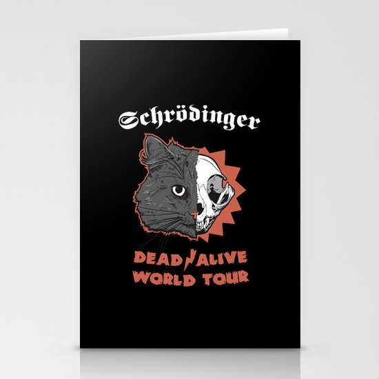Schrödinger - DEAD/ALIVE World Tour Stationery Cards