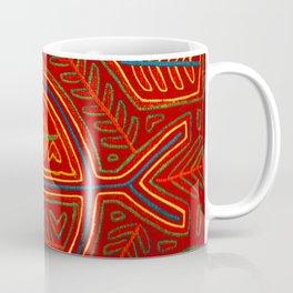 Kuna Indian Mola Stingray Coffee Mug