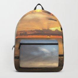 Daintree rainforest Oceanside sunrise Backpack