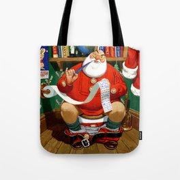 The Night Before Christmas - Santa's List Tote Bag