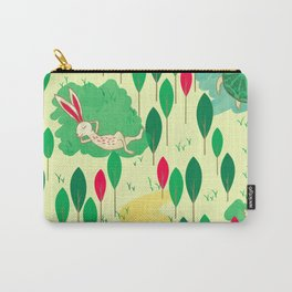 Hare and Tortoise Carry-All Pouch
