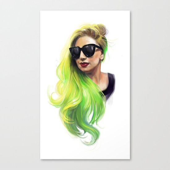 Absinth fairy - Mother Monster Canvas Print