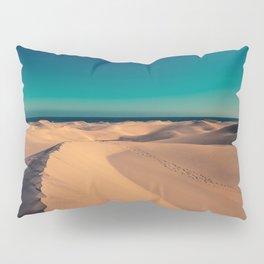 Sunset over the sand dunes Pillow Sham