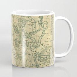 Antique Celestial Map December November October Coffee Mug
