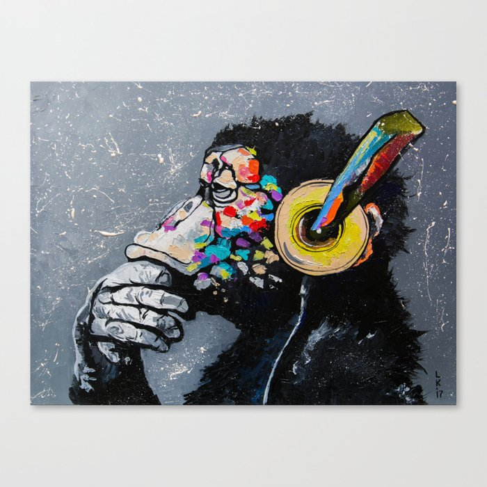 MELOMONKEY I Canvas Print
