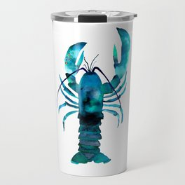 Blue Lobster Travel Mug