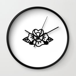 ROSE // Line Icon Series Wall Clock
