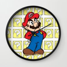 It's A Me Wall Clock