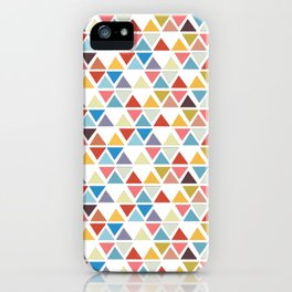 Triangle love iPhone Case