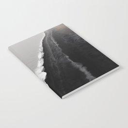 Black Sand Beach, Iceland Notebook