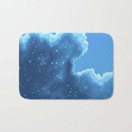 8bit Glacier Galaxy: Art Along #2 Bath Mat